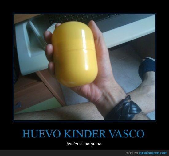 foto,huevo,kinder,LOL,realidad,vasco
