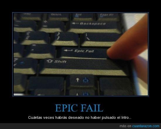 epic fail,intro,teclado