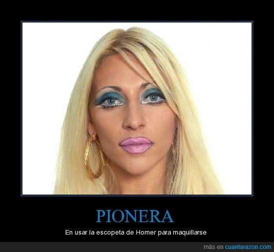 asco,maquillaje,pionera