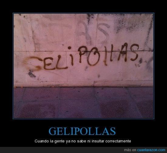 error,gelipollas,insulto,muro,pintada