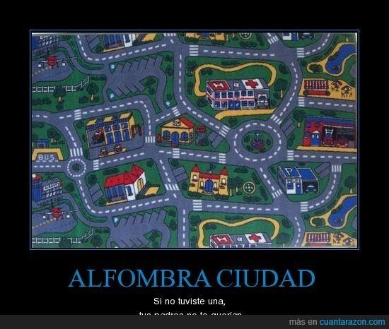 alfombra,ciudad,infancia