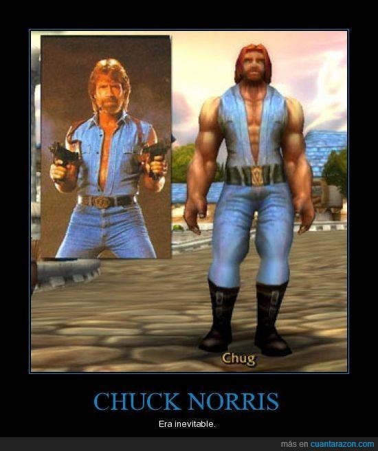 chuck norris,wow