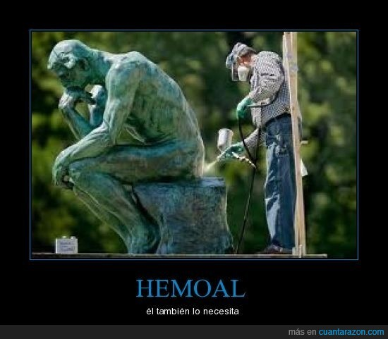 hemoal,pensador,restaurar,rodin