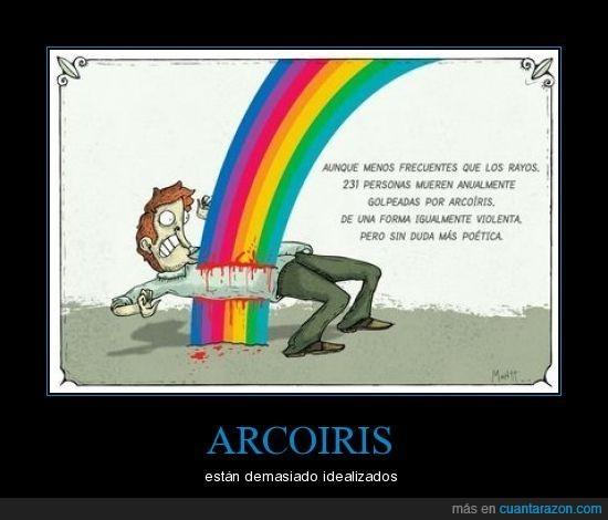 arcoiris,muerte