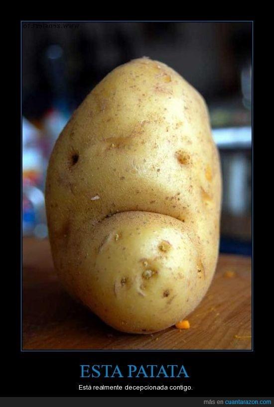 decepción,patata,WTF!?