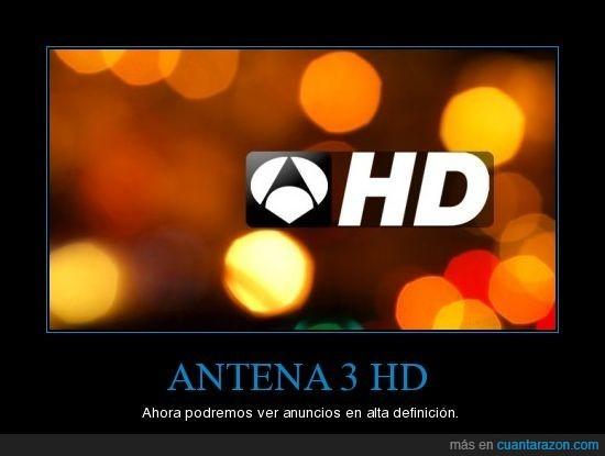 Antena 3,anuncios,HD,publicidad