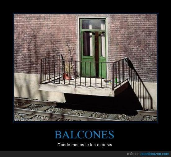 balcones,construido,inesperado