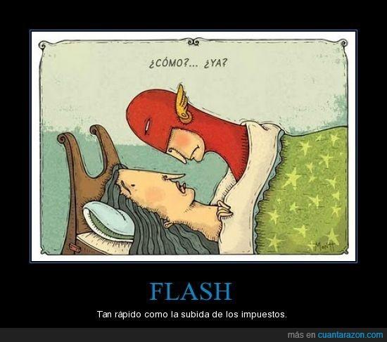 flash,impuestos,politica,rapidez