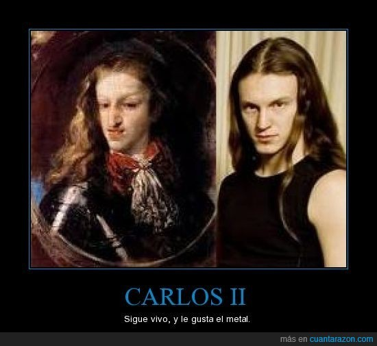 Carlos II,Epica,Mark Jansen,metal