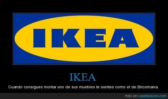Bricomania,Ikea,montar