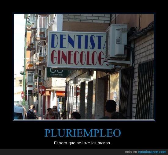 dentista,ginecólogo