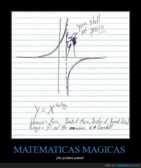gandalf,matematicas