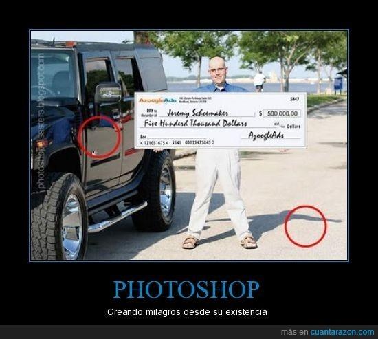 cheque,fail,milagro,Photoshop,retoque