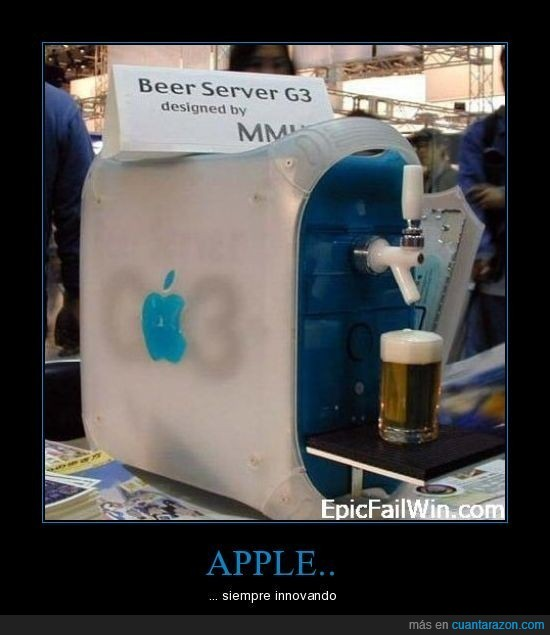 apple,cerveza,innovar,surtidor,torre