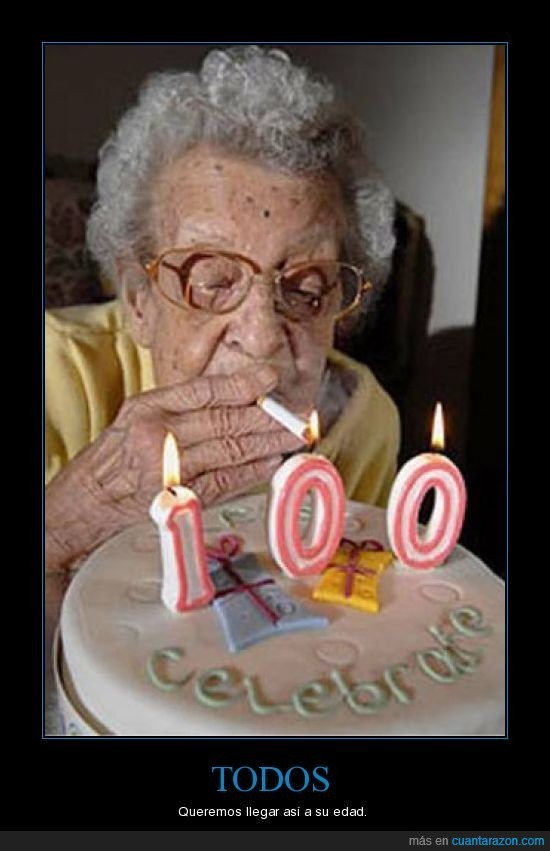 años,cumpleaños,La Abuelam100,tarta