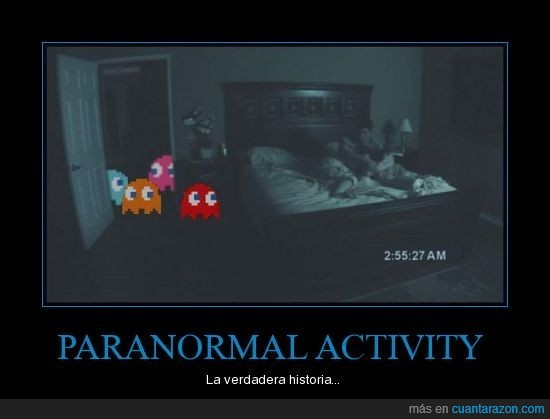 activity,pacman,paranormal