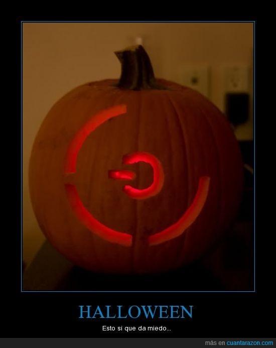 3 luces rojas,Halloween