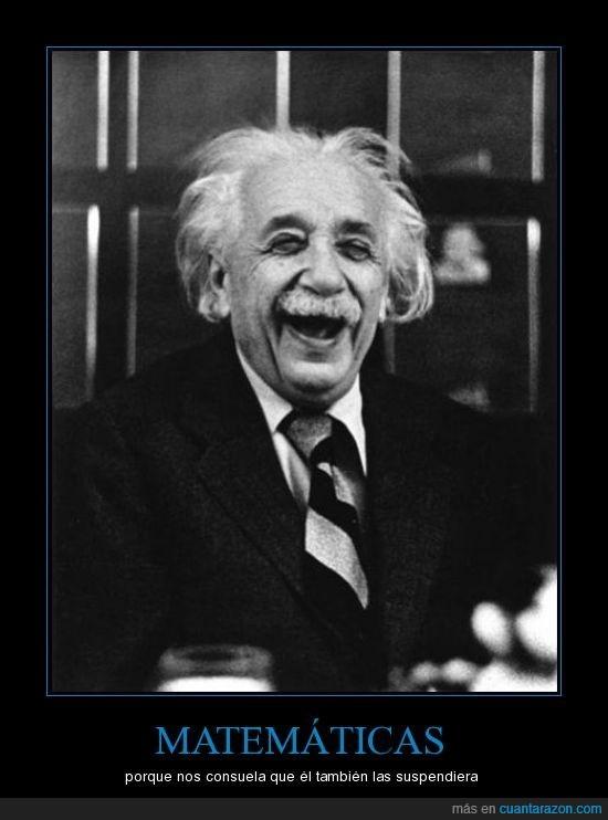 einstein,genio,matemáticas,suspender