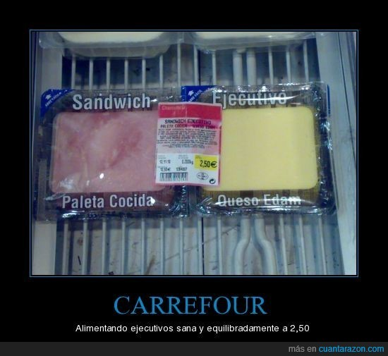carrefour,ejecutivo,sandwich