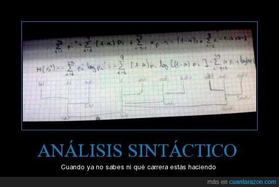 análisis,carrera,sintáctico