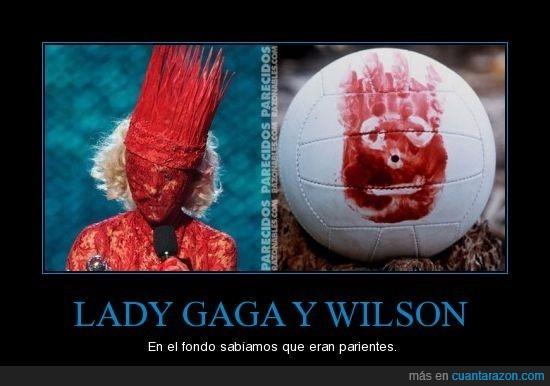balón,gaga,lady,naufrago