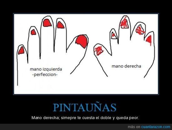 manos,pintauñas