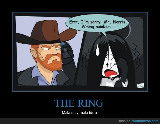 chuck norris,ring