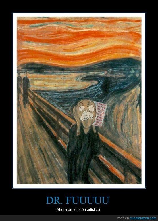 arte,dr fuuuu,el grito