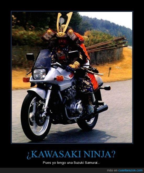 kawasaki,moto,ninja,samurai,suzuki