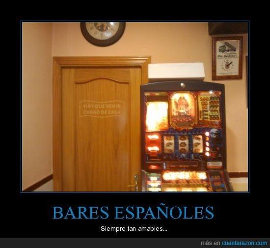 bares,servicios,wc