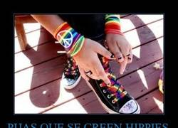 Enlace a PIJAS QUE SE CREEN HIPPIES