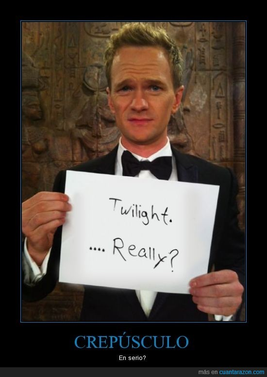 Barney,Crepusculo