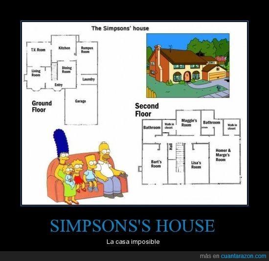 casa,simpsons,sims