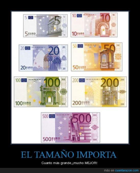 crisis,dinero,tamaños