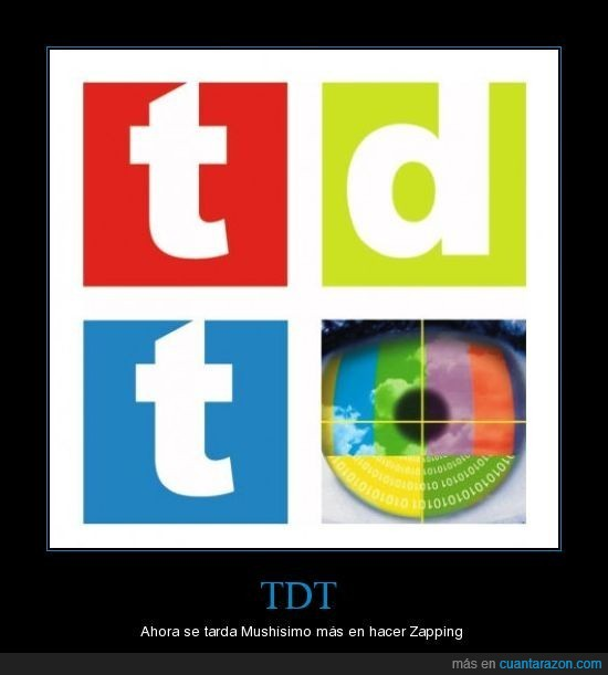 TDT,Televisión,Zapping