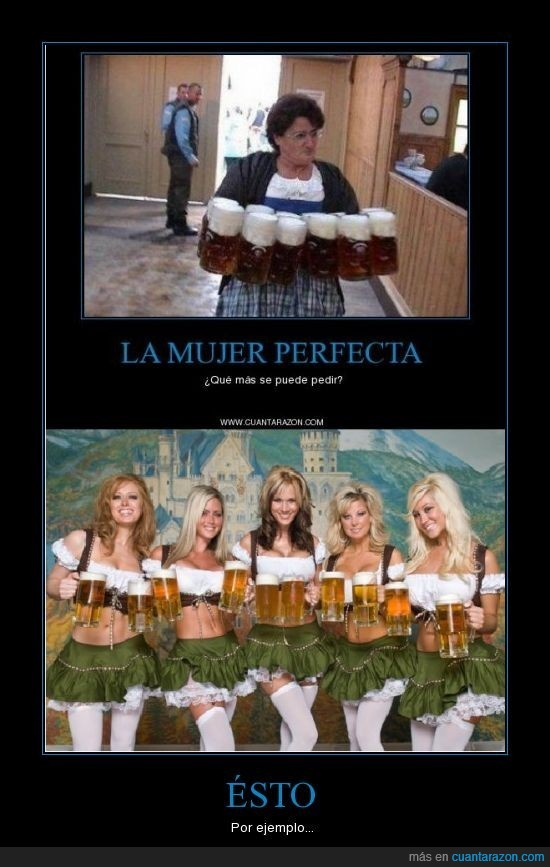 cervezas,chicas,fail,mujer perfecta,oktoberfest,owned,vieja