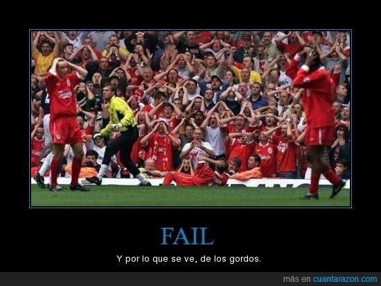 fail,futbol,hinchas,owen