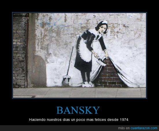 arte,arte urbano,bansky