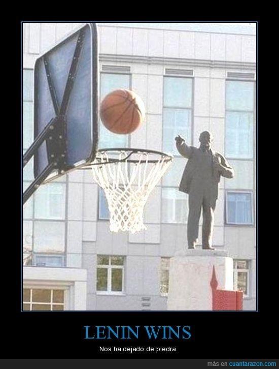 basket,estatua,lenin,triple