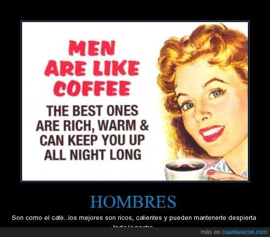 cafe,calientes,hombres,noche,ricos