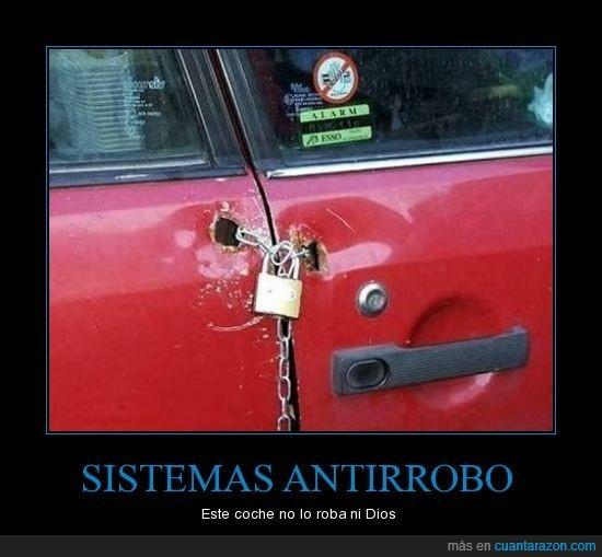 antirrobo,coche,fail,robo,sistema