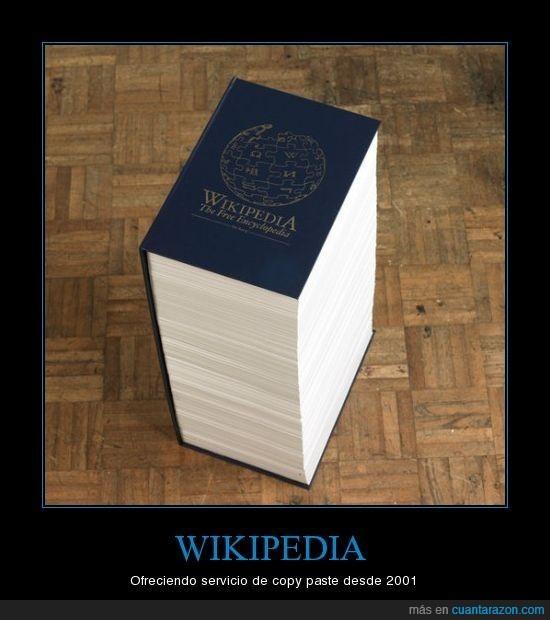 copiar y pegar,copy paste,enciclopedia,wikipedia