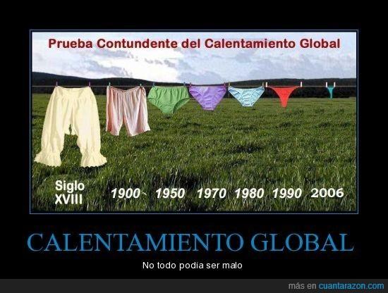 bragas,calentamiento,global