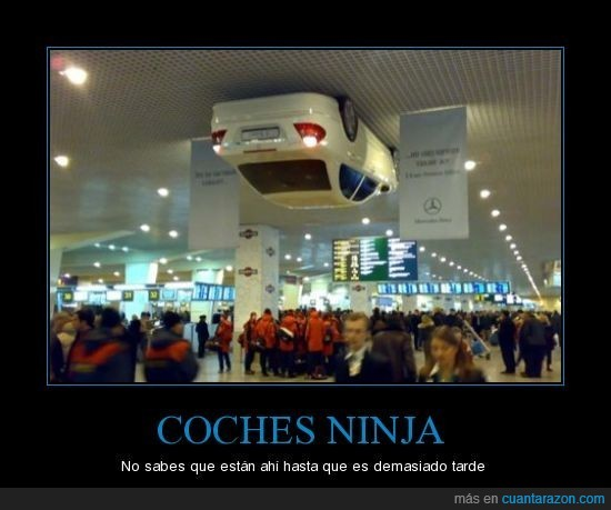 coche,mercedes,ninja