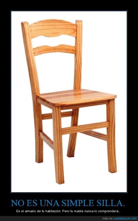 armario,desorden,madre,silla