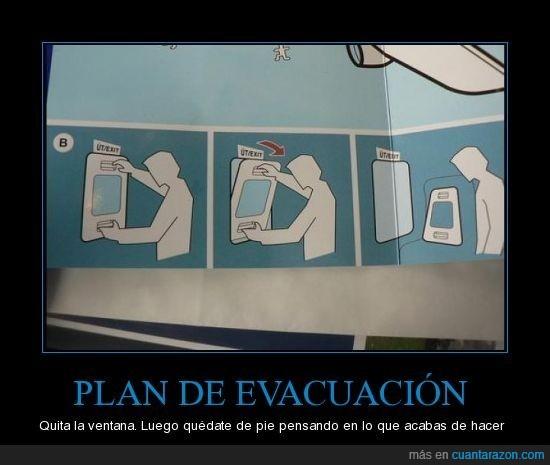 absurdo,avion,desastre,evacuación