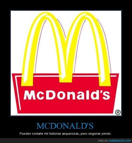 asquerosas,comer,mcdonalds
