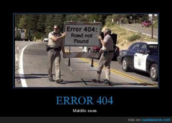 404,carretera,cortada,error,no encontrado