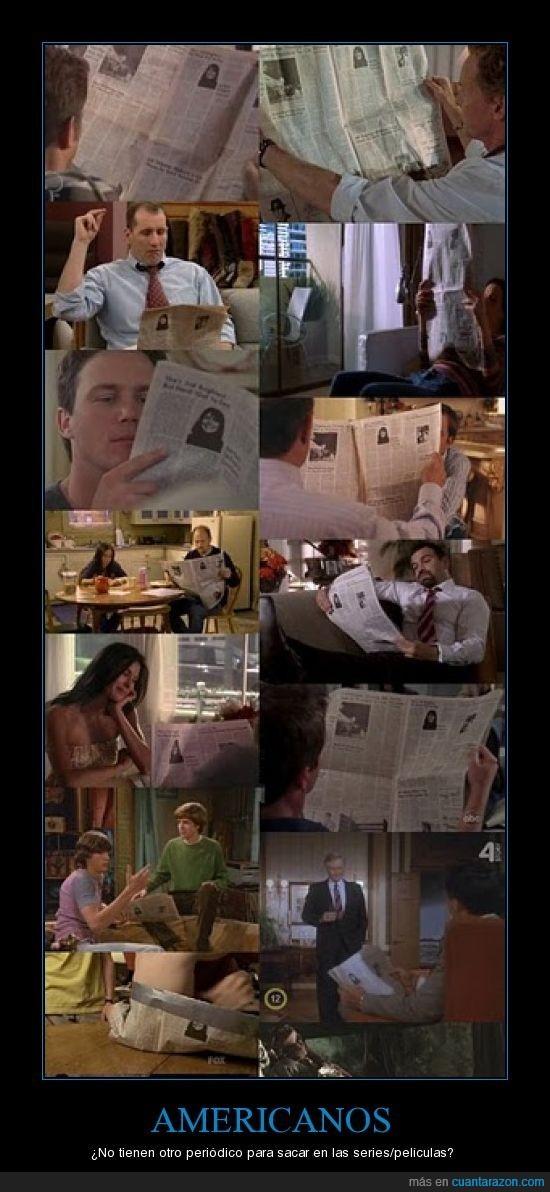 americanos,periódicos