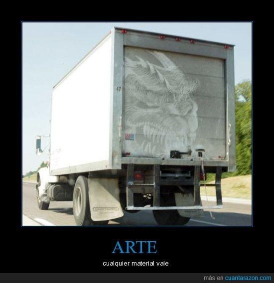arte,camión